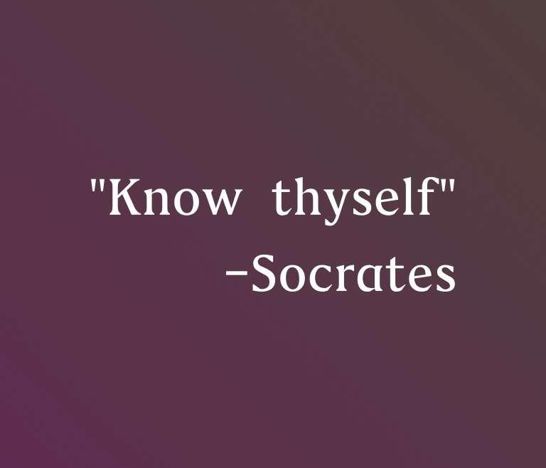 認識自己,自然能收放自如。